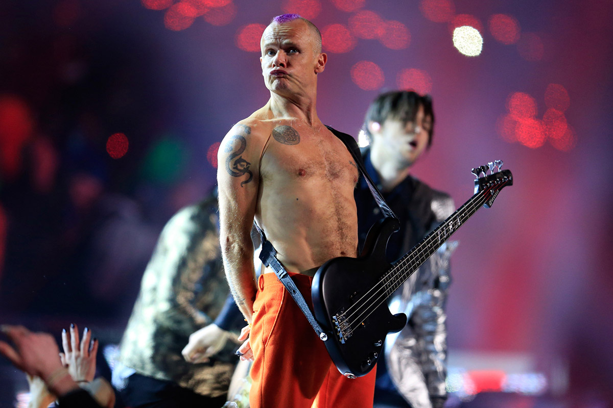 Red Hot Chili Peppers' Flea Bids Larry King Farewell By ...