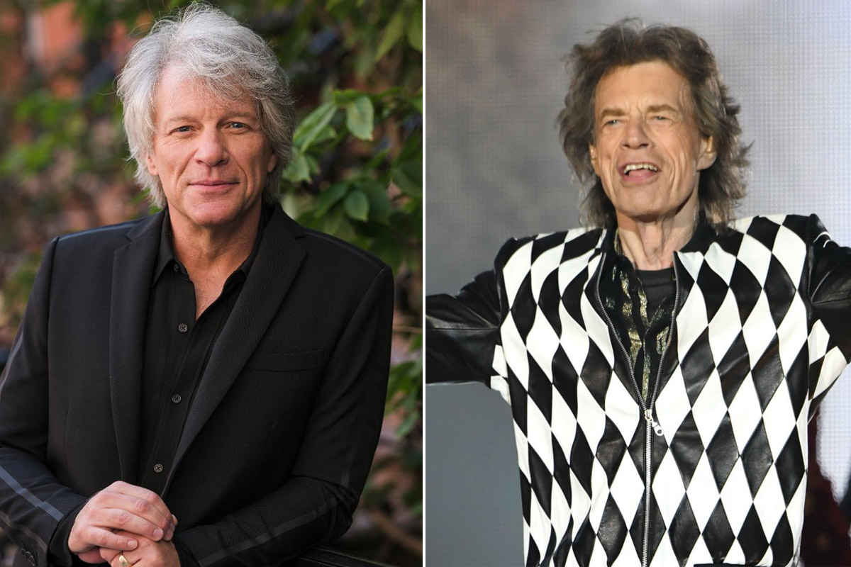 Jon Bon Jovi Recalls The First Time He Met Mick Jagger And Shares The  Greatest Lesson He Learned From The Stones - Rock Celebrities