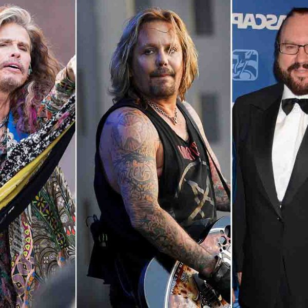 How Steven Tyler Inspired By Vince Neil While Writing 'Dude (Looks Like A Lady),' Desmond Child Explains