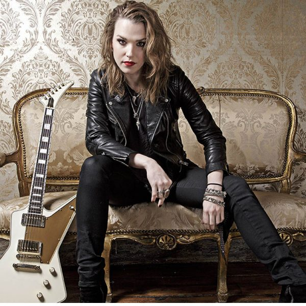 Halestorm's Lzzy Hale Announces The Release Date Of Her New Song 'Rebel' With The Picturebooks