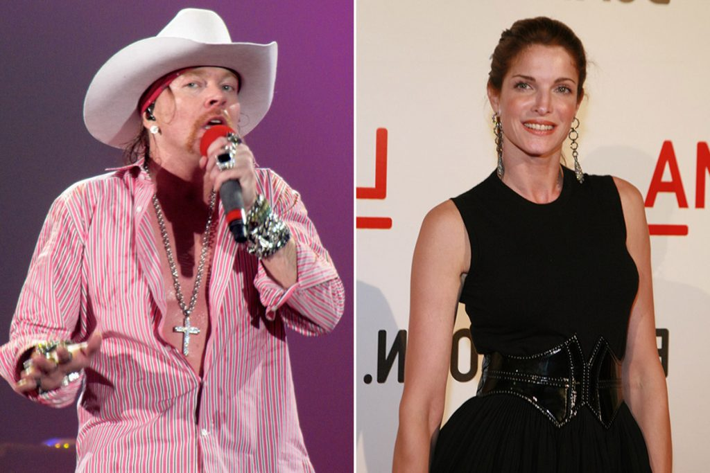 The Little Known Details Of Axl Rose S Lawsuit Against Stephanie Seymour Rock Celebrities