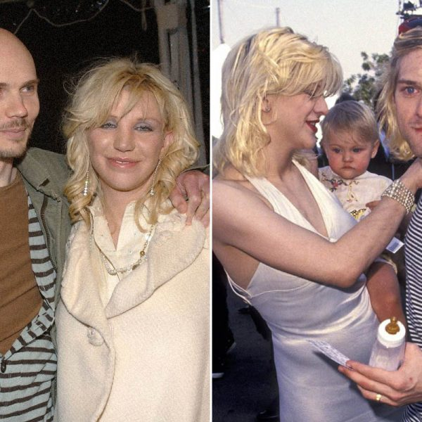 The Truth About Courtney Love's Love Triangle With Kurt Cobain And Billy Corgan