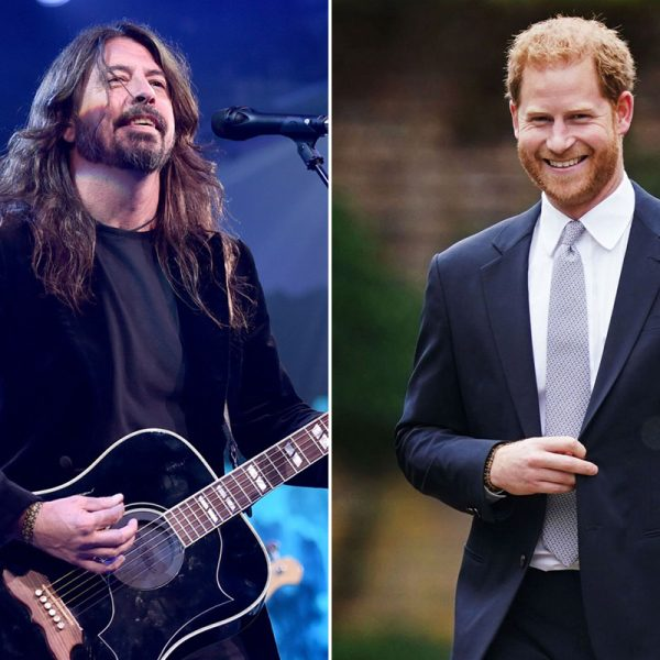 The Story Behind Dave Grohl's Friendship With Prince Harry
