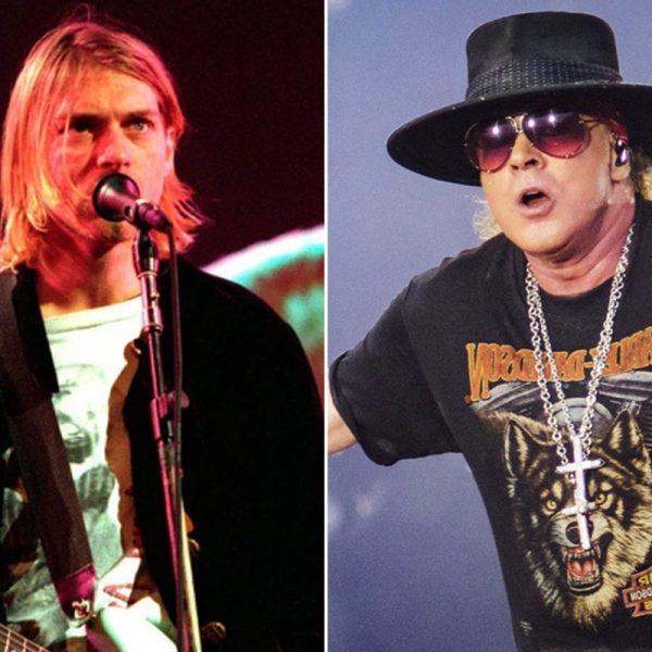 When Kurt Cobain Declined Guns N' Roses Singer Axl Rose's Offer