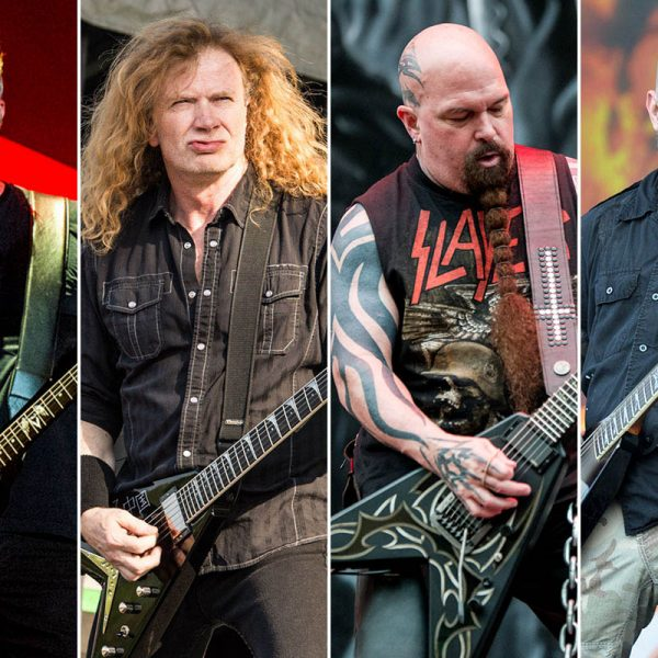 The Least Liked Of The 'Big Four' Thrash Metal Bands: Metallica, Megadeth, Slayer, Or Anthrax