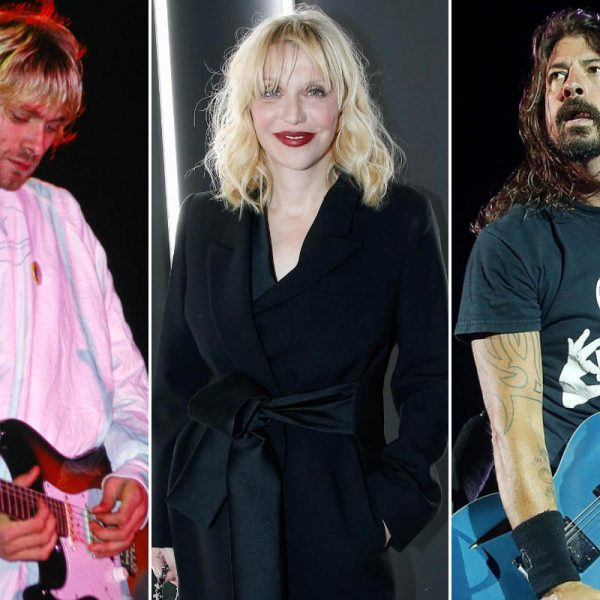 Why Courtney Love Had An Argument With Kurt Cobain And Dave Grohl Over 'In Bloom' Of Nirvana