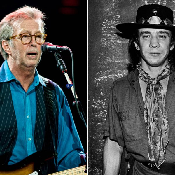 What Eric Clapton Learned From Stevie Ray Vaughan's Death