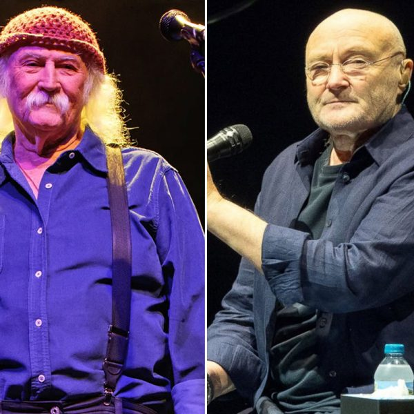 When Phil Collins Saved David Crosby's Life
