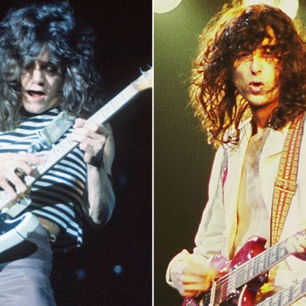 Jimmy Page's Contribution To Eddie Van Halen's Tapping Technique