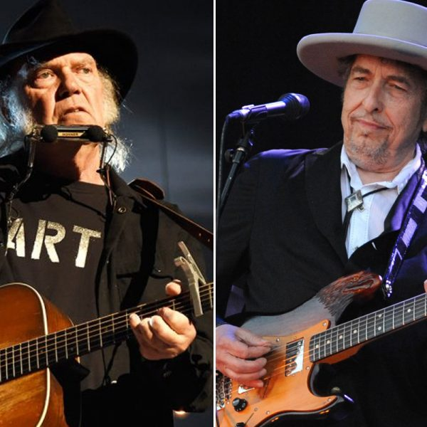 Neil Young And Bob Dylan Songs That They Mentioned Each Other